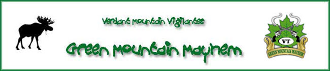 Green Mountain Mayhem header image.
